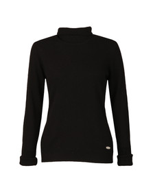 Barbour Lifestyle Womens Black Faray Roll Neck