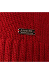 Barbour International Womens Red Endo Knit