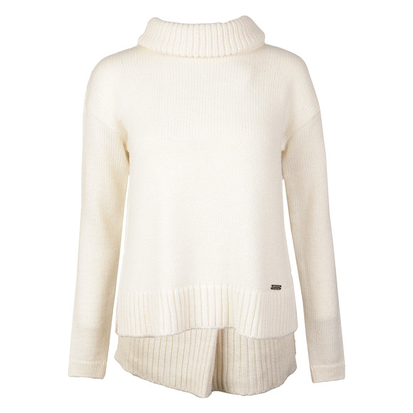 Barbour International Womens White Endo Knit main image