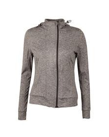 Superdry Womens Grey Core Gym Zip Hoody