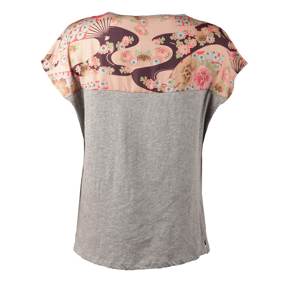 Maison Scotch Womens Grey Short Sleeve T Shirt main image