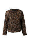 Maison Scotch Womens Black Relaxed Fit Jacket