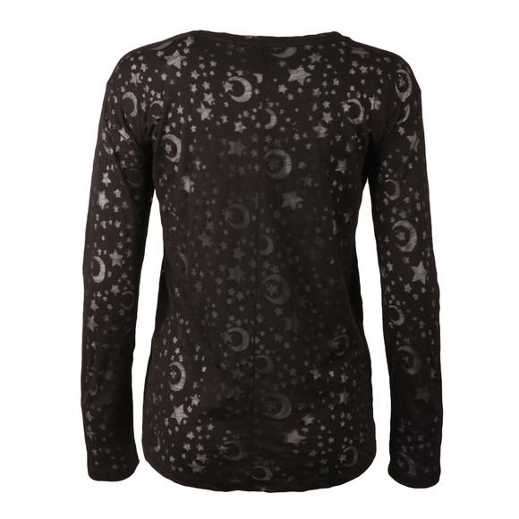 Maison Scotch Womens Black Long Sleeve T Shirt main image