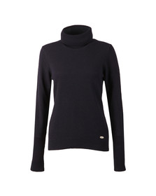 Barbour Lifestyle Womens Blue Faray Roll Neck