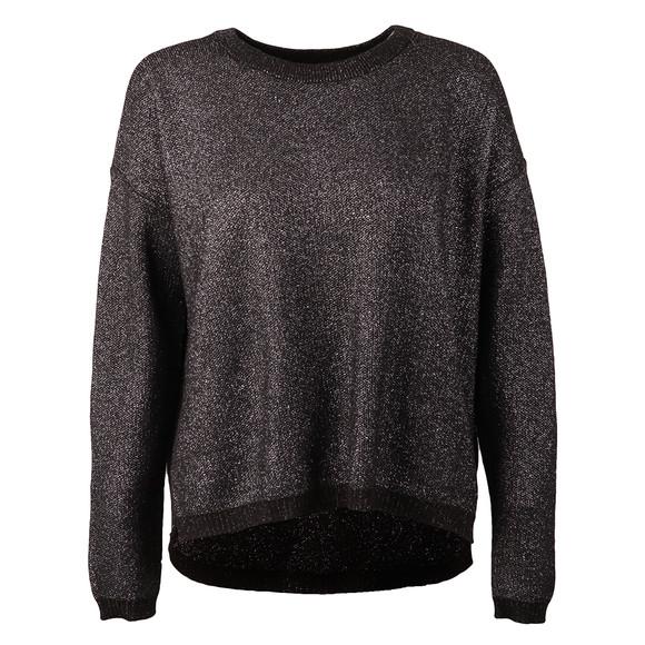 Maison Scotch Womens Grey Cool Metallic Knit main image