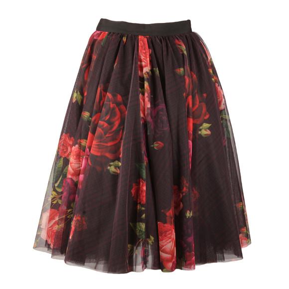 Ted Baker Womens Red Ondra Juxtapose Rose Tutu Mid Skirt main image