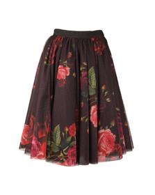 Ted Baker Womens Red Ondra Juxtapose Rose Tutu Mid Skirt