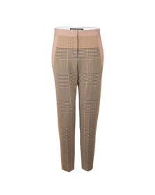 French Connection Womens Beige Prince Mix Suiting Trouser