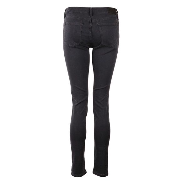 Calvin Klein Jeans Womens Blue Mid Rise Skinny Jean main image