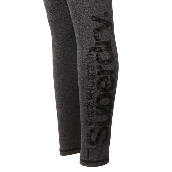 Superdry Womens Black Large Logo Legging main image