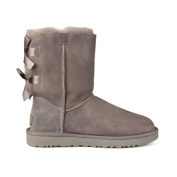 Ugg Womens Grey Bailey Bow II Boot main image