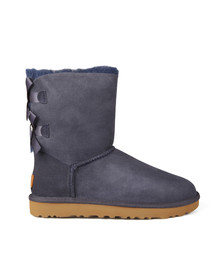 Ugg Womens Blue Bailey Bow II Boot