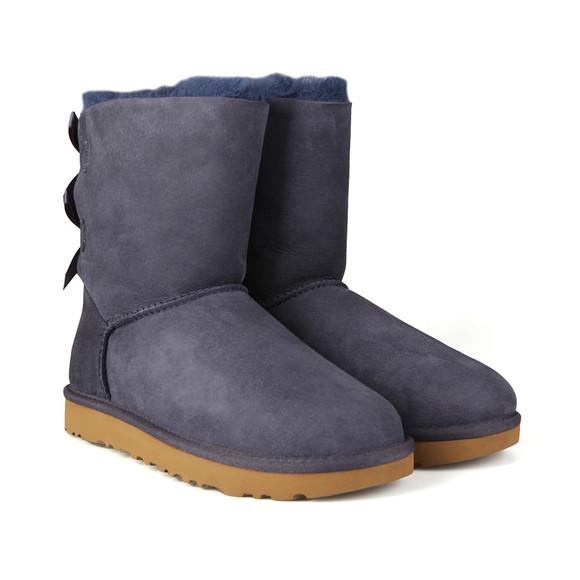 Ugg Womens Blue Bailey Bow II Boot main image