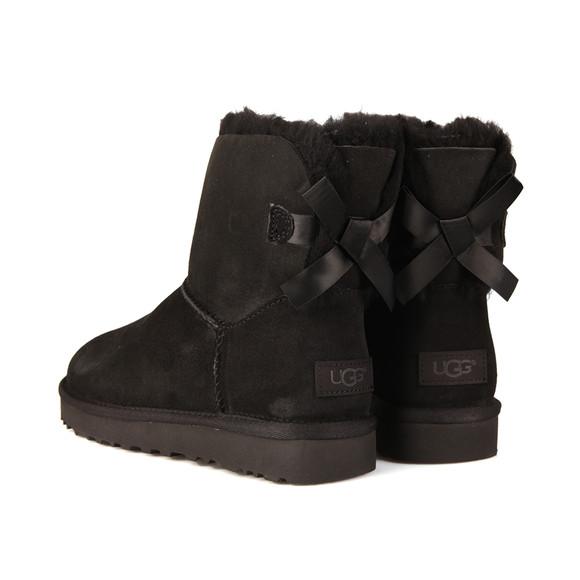 Ugg Womens Black Mini Bailey Bow II Boot main image