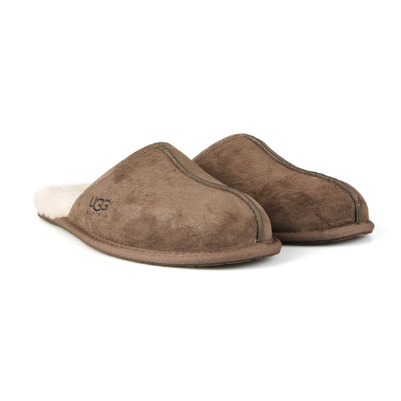 Ugg Mens Brown Scuff Slipper main image