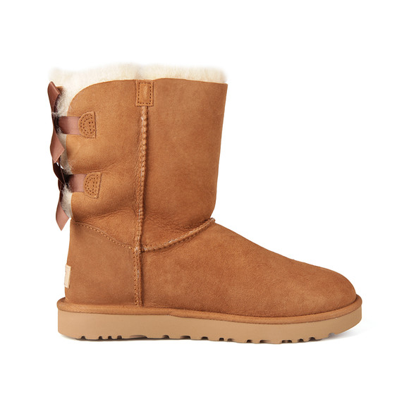 Ugg Womens Brown Bailey Bow II Boot
