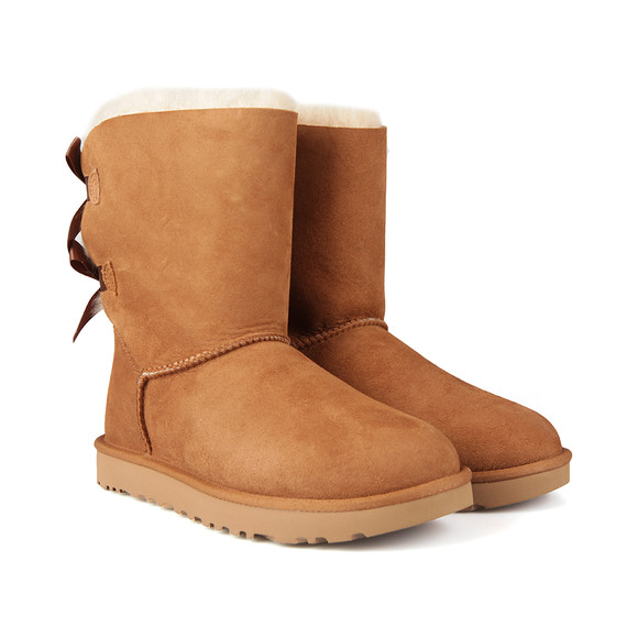 Ugg Womens Brown Bailey Bow II Boot main image