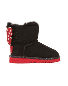 Ugg Girls Black Disney Sweetie Bow Boot