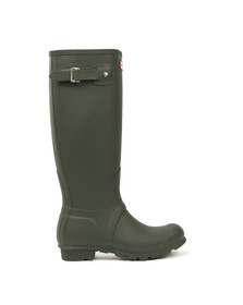 Hunter Womens Green Hunter Original Tall Wellington