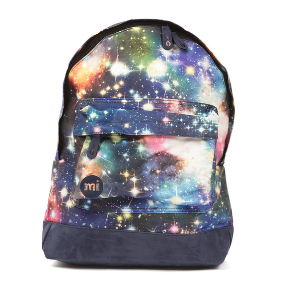 Mi Pac Unisex Blue Printed Backpack main image