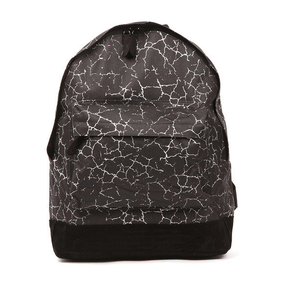 Mi Pac Unisex Black Cracked Backpack main image