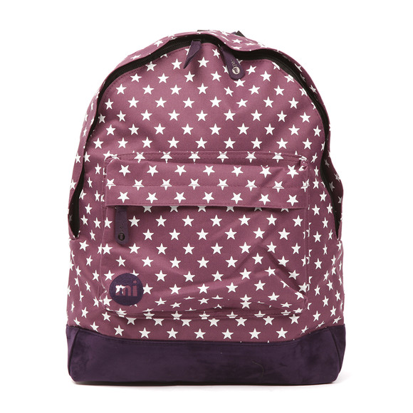 Mi Pac Unisex Purple All Over Stars Backpack main image