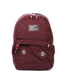 Superdry Unisex Red Trinitiy Montana Backpack