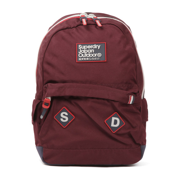 Superdry Unisex Red Trinitiy Montana Backpack main image