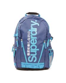 Superdry Unisex Blue Tarp Backpack