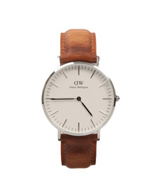 Daniel Wellington Unisex Silver Classic 36mm Durham Watch