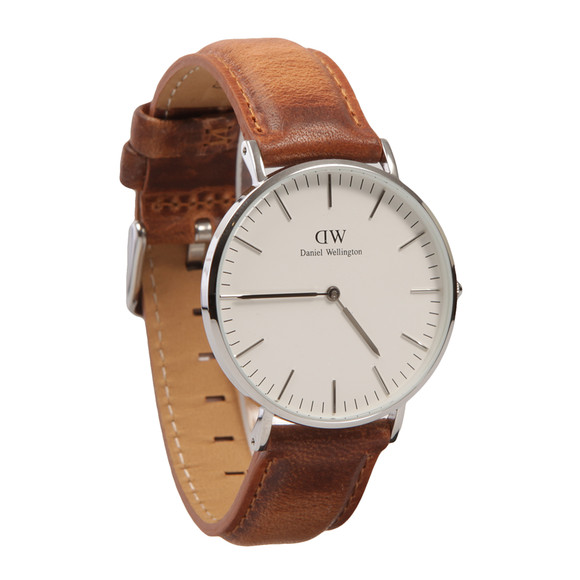 Daniel Wellington Unisex Silver Classic 36mm Durham Watch main image