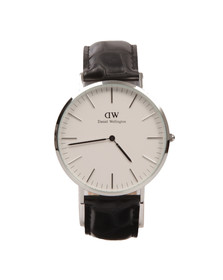 Daniel Wellington Unisex Silver Classic Reading 40mm Watch