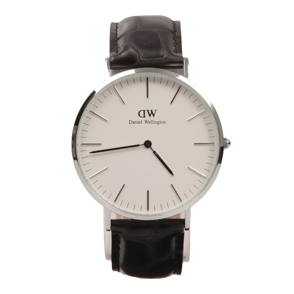 Daniel Wellington Unisex Silver Classic Reading 40mm Watch main image