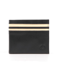 Fred Perry Mens Blue Cut & Sew Tipped Billfold Wallet