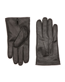 Hugo Mens Black Haindt Leather Glove