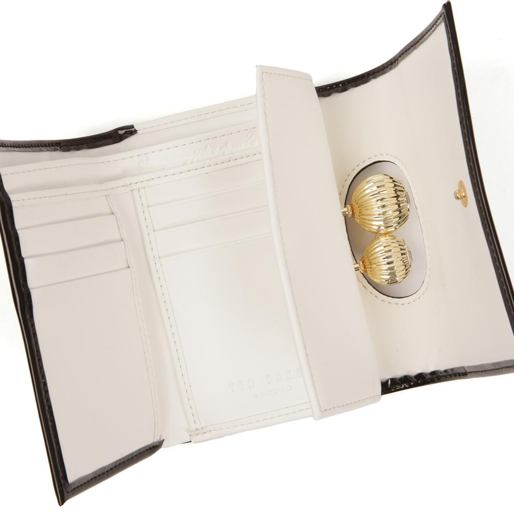 Julissa Etched Bobble Patent Small Purse main image