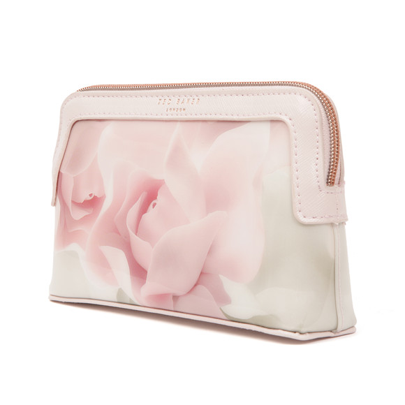 Ted Baker Womens Pink Amallia Porcelain Rose Makeup Bag main image