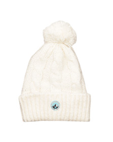 Superdry Womens Off-white Clarrie Beanie