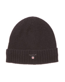 Gant Mens Blue Cotton/Wool Lined Beanie