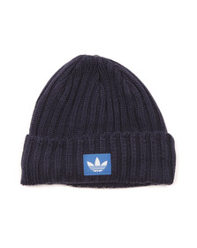 Adidas Originals Mens Blue F M Trefoil Beanie