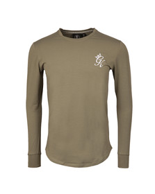 Gym king Mens Green Long Sleeve Undergarment Tee