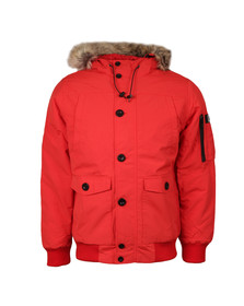 Weekend Offender Mens Red Scope Jacket