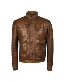Matchless Mens Brown Dundee Blouson