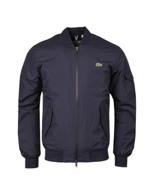 Lacoste Mens Blue BH9477 Bomber Jacket