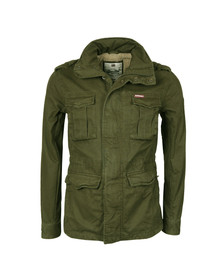 Superdry Mens Beige Rookie Weather Field Jacket