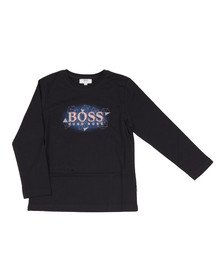 Boss Boys Blue J25987 Long Sleeve T Shirt