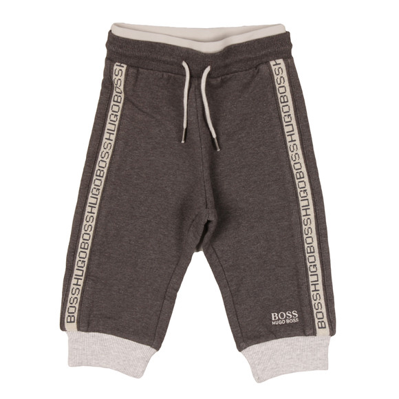 BOSS Loungewear Boys Grey Baby J04244 Jogger main image