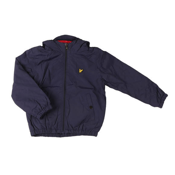 Lyle And Scott Junior Boys Blue Padded Cagoule main image