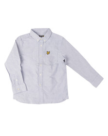 Lyle And Scott Junior Boys Blue Classic Oxford Shirt