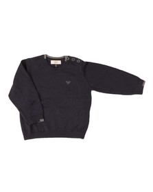 Armani Baby Boys Blue 6XHM51 Jumper